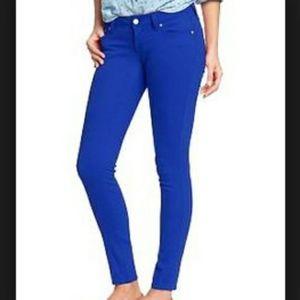 Old Navy Rockstar Blue Stretch Pants Jeans 16 Tall
